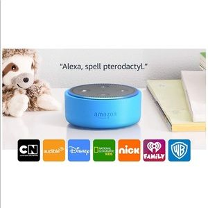 Other - Echo Dot Kids Edition Blue New